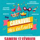 Carnaval des Enfants Samedi 17 Février 2018 de 14h à 17h Salle Charvet à RLP
