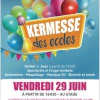 Kermesse des Ecoles de Roquefort-les-Pins le Vendredi 29 Juin 2018 à partir de 16h30 jusque tard dans la nuit !!!- Stade face Collège César
